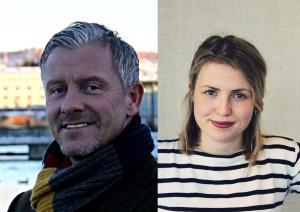 Ófeigur Friðriksson og Eva Lín ætla að tala um húsnæðismálin í kvöld.