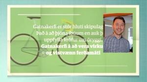 Gunnar Axel vill að sem flestir setji sig inn í umræðuna um aðalskipulagið. Því hún er gríðarlega mikilvæg fyrir íbúa.