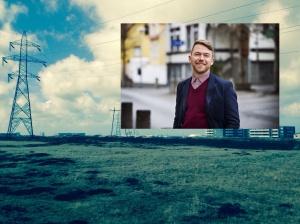 Gunnar Axel segir niðurrif Hamraneslínu grundvallarforsendu fyrir íbúabyggð á Völlunum.
